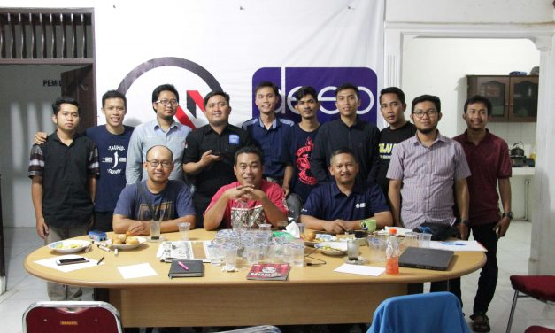 Undang Dua Jurnalis Radar Bogor, Vinus Adakan Pelatihan Media