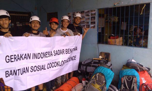 Gerakan Indonesia Sadar Bencana Distribusikan Bantuan Kepada Korban Longsor di Sukajaya