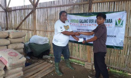 Koperasi Syariah Galang Visi Nusantara (GVN) Sumbangkan Bahan-Bahan Hunian Sementara Bagi Korban Bencana