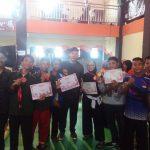 Kontingen Tapak Suci Darul Hikmah Raih Medali di Alfes Subang Wanareja