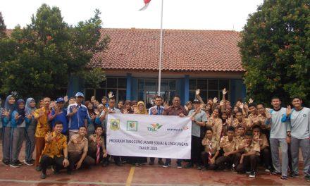 Bantu Wujudkan Program Bupati Bogor Bersih dan Indah, PT. Nipress Energi Otomotif Lakukan Penghijauan Bekerja Sama dengan Tim Fasilitasi TJSL Perusahaan