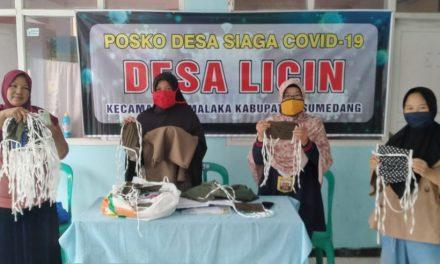 Nasyiatul 'Aisyiah Sumedang Berbagi 1000 Masker untuk Cegah Corona