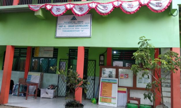 SMP Al-Ihsan Leuwiliang Tetap Ikuti Aturan Pemerintah