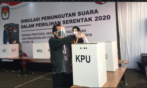 Penetapan Paslon Pilkada 2020 dilakukan Secara Online.
