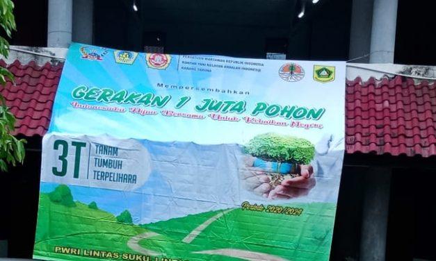 Ketua PWRI Kabupaten Bogor Ajak Milenial Peduli Lingkungan