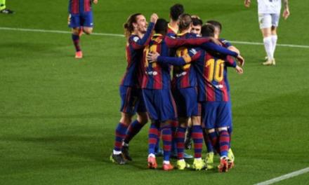 Barcelona Berhasil Benamkan Huesca 4-1 di Camp Nou