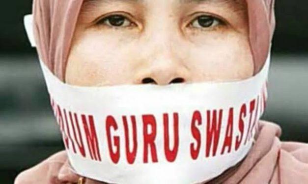 PPPK : Pemerintah Tak Adil pada Guru Honorer Swasta !